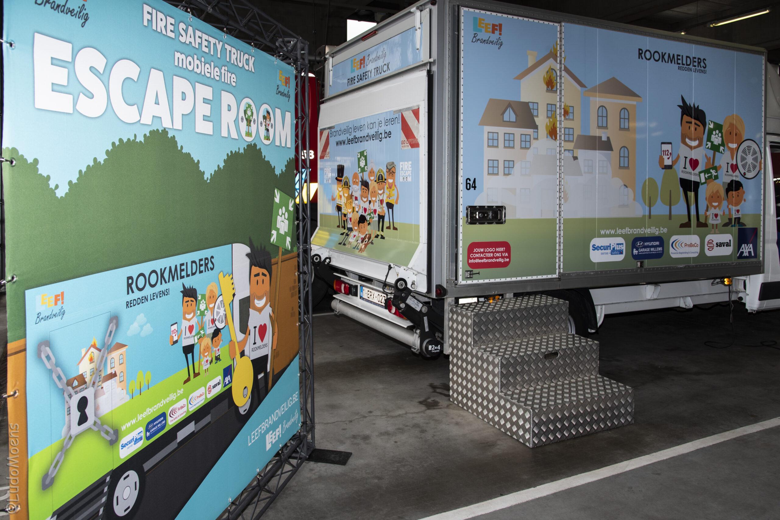 Word partner van de 'Fire Safety Truck'!