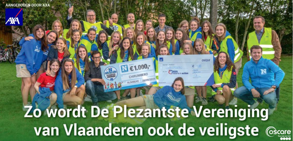 Zo wordt de Plezantste Vereniging van Vlaanderen ook de (brand)veiligste.